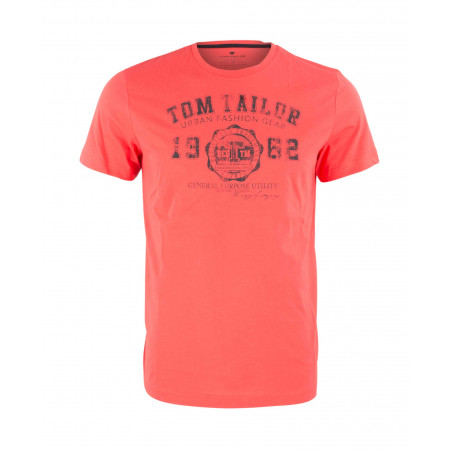 SALE % | Boss Casual | T-Shirt - Regular Fit - Print | Orange online im Shop bei meinfischer.de kaufen
