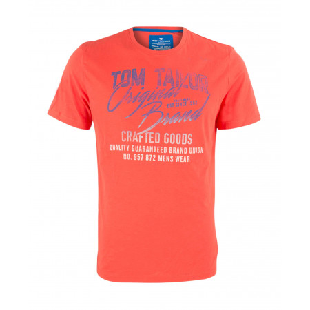 SALE % | Boss Casual | T_Shirt - Regular Fit - Print | Orange online im Shop bei meinfischer.de kaufen