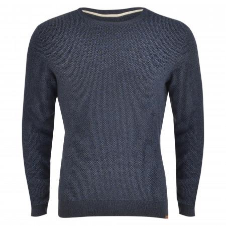 SALE % | Tom Tailor Men Casual | Pullover - Regular Fit - Crewneck | Blau online im Shop bei meinfischer.de kaufen