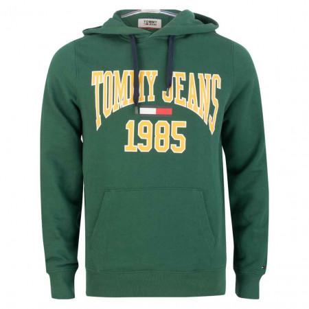 SALE % | Tommy Jeans | Hoodie - Regular Fit - Wording | Grün online im Shop bei meinfischer.de kaufen