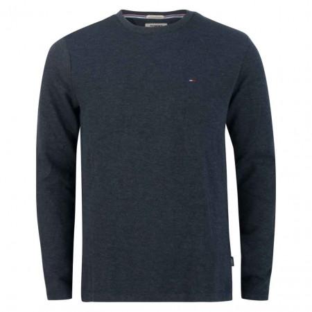 SALE % | Tommy Jeans | Pullover - Regular Fit - V-Neck | Blau online im Shop bei meinfischer.de kaufen