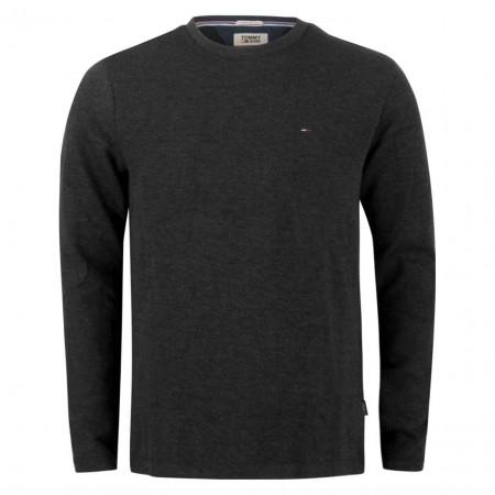 SALE %   Tommy Jeans   Pullover - Regular Fit - V-Neck   Grau online im Shop bei meinfischer.de kaufen