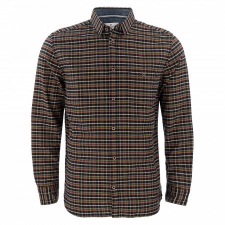SALE %   Tom Tailor Men Casual   Freizeithemd - Comfort Fit - Karo   Oliv online im Shop bei meinfischer.de kaufen