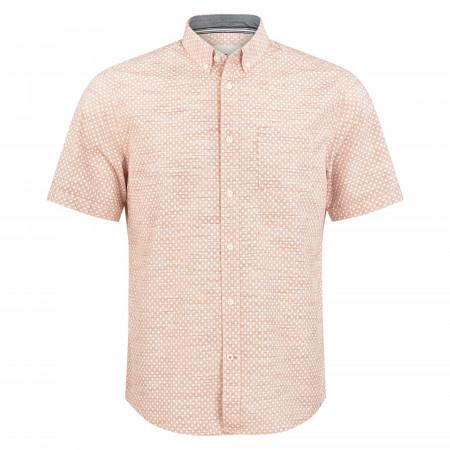 SALE % | Tom Tailor Men Casual | Freizeithemd - Regular Fit - Button Down | Rot online im Shop bei meinfischer.de kaufen