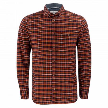SALE %   Tom Tailor Men Casual   Freizeithemd - Comfort Fit - Karo   Rot online im Shop bei meinfischer.de kaufen