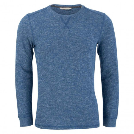 SALE % | Tom Tailor Men Casual | Pullover - Regular Fit - Melange | Blau online im Shop bei meinfischer.de kaufen