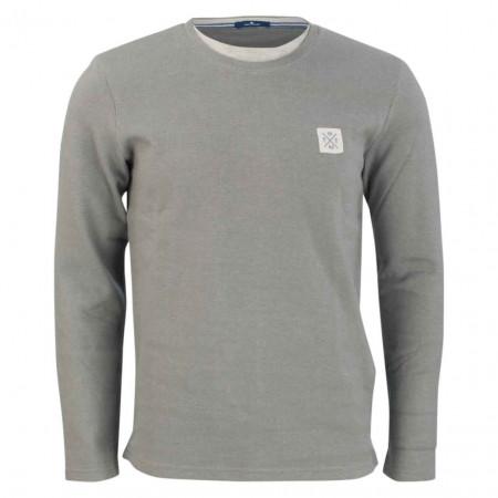 SALE % | Tom Tailor Men Casual | Pullover - Regular Fit - Underlayer | Grau online im Shop bei meinfischer.de kaufen