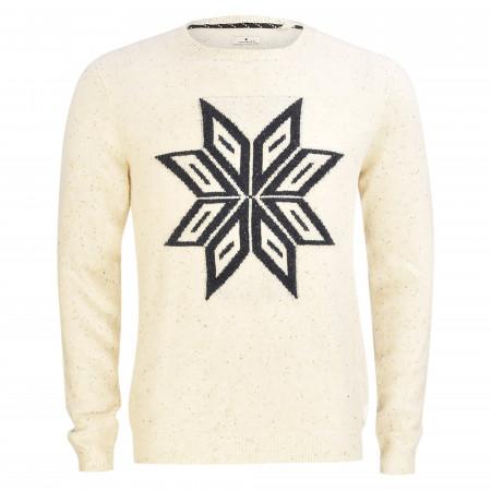 SALE % | Tom Tailor Men Casual | Pullover - Modern Fit - Stickerei | Weiß online im Shop bei meinfischer.de kaufen