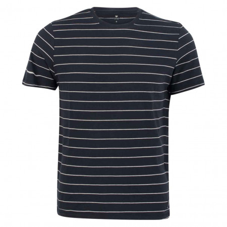 SALE % | Tom Tailor Men Casual | T-Shirt - Regular Fit - Stripes | Blau online im Shop bei meinfischer.de kaufen