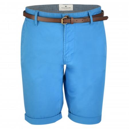 SALE % | Tom Tailor Men Casual | Shorts - Regular Fit - Stretch | Blau online im Shop bei meinfischer.de kaufen
