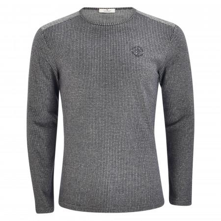 SALE % | Tom Tailor Men Casual | Sweatshirt - Regular Fit - Crewneck | Schwarz online im Shop bei meinfischer.de kaufen