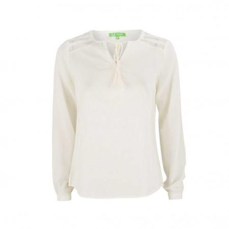 SALE % | Boss Casual | Bluse - Regular Fit  -Troddel | Weiß online im Shop bei meinfischer.de kaufen