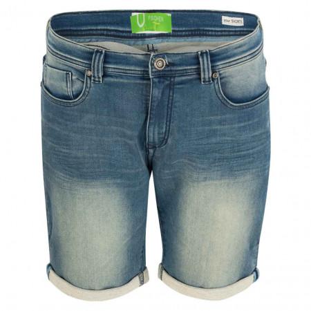 SALE %   U Fischer   Denimshorts - Regular Fit - 5 Pocket   Blau online im Shop bei meinfischer.de kaufen