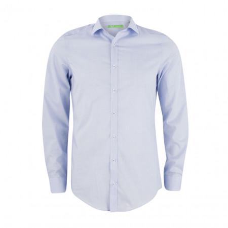 SALE %   U Fischer   Hemd - Slim Fit - Classic Kent   Blau online im Shop bei meinfischer.de kaufen