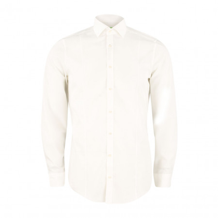 SALE % | U Fischer | Hemd - Slim Fit - Classic Kent | Weiß online im Shop bei meinfischer.de kaufen