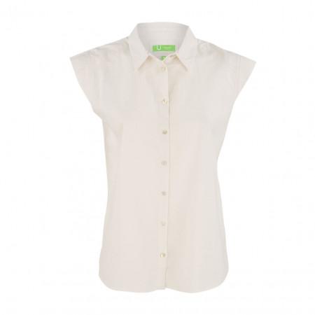 SALE % | Boss Casual | Hemdbluse - fitted - Knopfleiste | Weiß online im Shop bei meinfischer.de kaufen