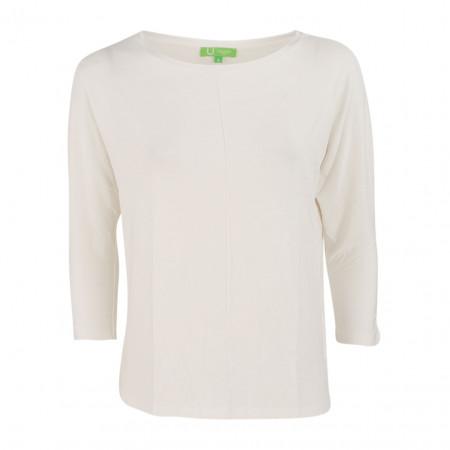 SALE % | Boss Casual | Jerseyshirt - Regular Fit - 3/4-Arm | Weiß online im Shop bei meinfischer.de kaufen