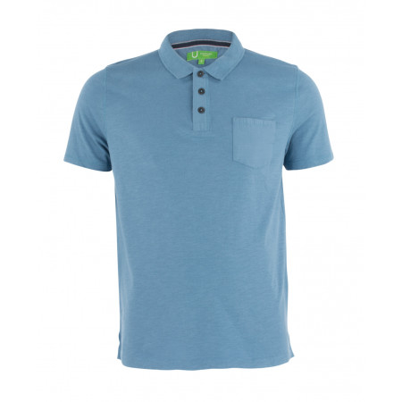 SALE % | Boss Casual | Poloshirt-Knopfleiste | Blau online im Shop bei meinfischer.de kaufen