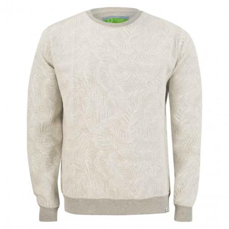 SALE % | U Fischer | Sweater - Regular Fit - Muster | Grau online im Shop bei meinfischer.de kaufen