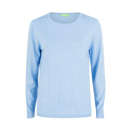 SALE % | U Fischer | Kuschelweicher Pullover | Blau online im Shop bei meinfischer.de kaufen
