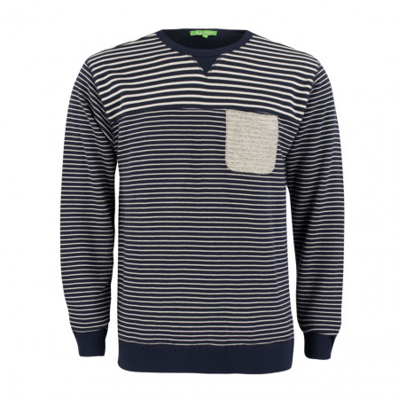 Pullover - Regular Fit - Stripes