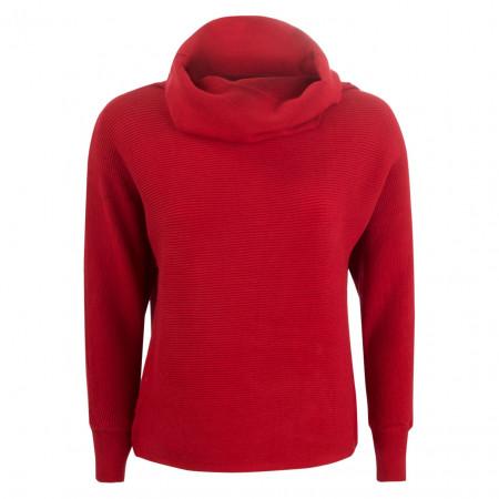 SALE % | U Fischer | Pullover - Regular Fit - Schalkragen | Rot online im Shop bei meinfischer.de kaufen