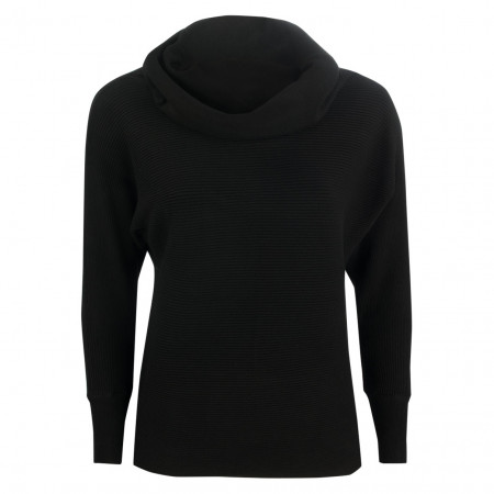SALE %   U Fischer   Pullover - Regular Fit - Schalkragen   Schwarz online im Shop bei meinfischer.de kaufen