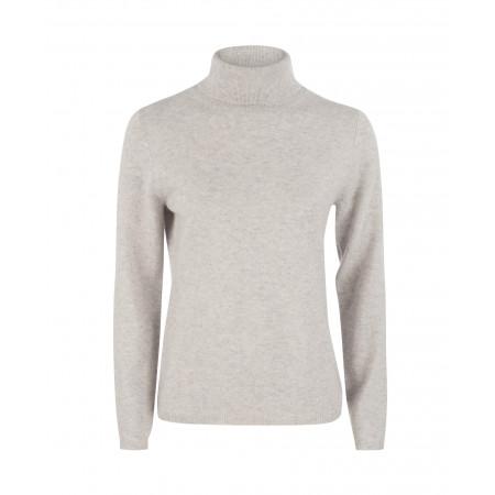 SALE % | Boss Casual | Pullover - Slim Fit - Kaschmir - Rollkragen | Grau online im Shop bei meinfischer.de kaufen