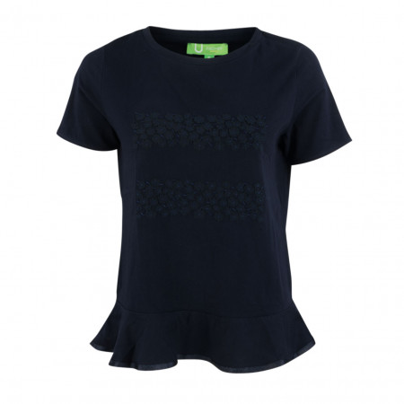 SALE % | Boss Casual | Shirt - Fitted - Schößchen | Blau online im Shop bei meinfischer.de kaufen