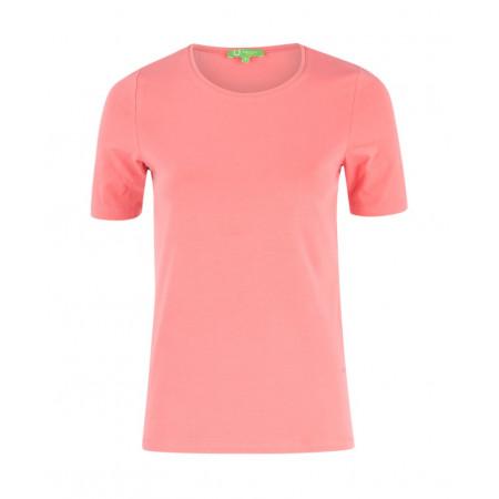 SALE % | U Fischer | Shirt Basic Rundhals | Pink online im Shop bei meinfischer.de kaufen