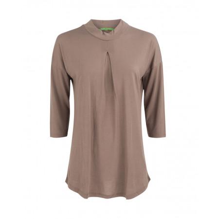 SALE % | U Fischer | Shirt mit Turtleneck | Braun online im Shop bei meinfischer.de kaufen
