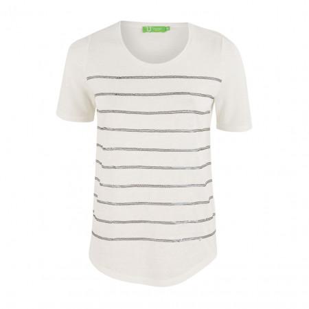 SALE % | Boss Casual | Shirt - Regular Fit - Pailletten | Weiß online im Shop bei meinfischer.de kaufen