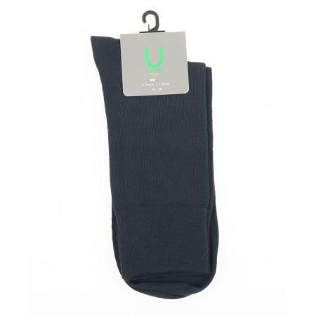 SALE % | U Fischer | Socken Basic Uni | Blau online im Shop bei meinfischer.de kaufen