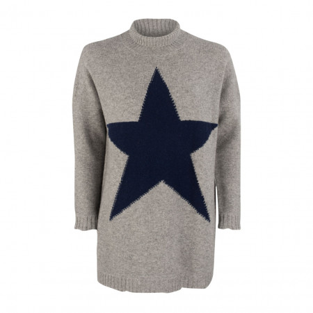Strickpullover - oversized - Wolle