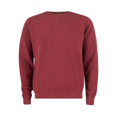 SALE % | Boss Casual | Sweatpullover unifarben | Rot online im Shop bei meinfischer.de kaufen