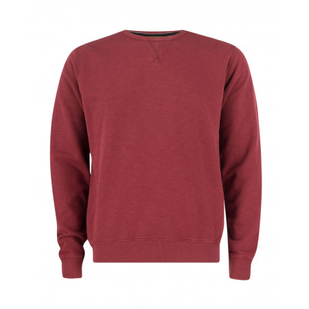 SALE % | U Fischer | Sweatpullover unifarben | Rot online im Shop bei meinfischer.de kaufen