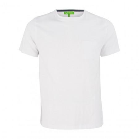 SALE % | Boss Casual | T-Shirt - Regular Fit - Brusttasche | Weiß online im Shop bei meinfischer.de kaufen