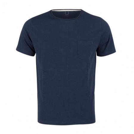SALE % | Boss Casual | T-Shirt - Regular Fit - Brusttasche | Blau online im Shop bei meinfischer.de kaufen