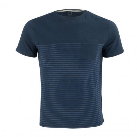 SALE % | Boss Casual | T-Shirt - Regular Fit - Crewneck | Blau online im Shop bei meinfischer.de kaufen