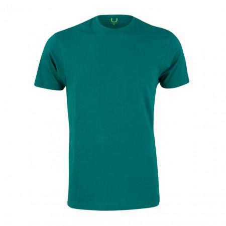 SALE %   U Fischer   T-Shirt - fitted - Crewneck   Grün online im Shop bei meinfischer.de kaufen