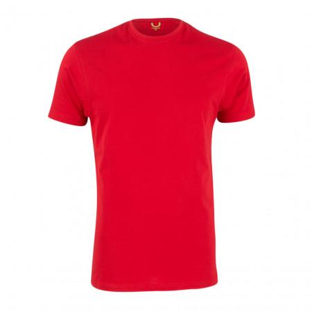 SALE % | U Fischer | T-Shirt - fitted - Crewneck | Rot online im Shop bei meinfischer.de kaufen