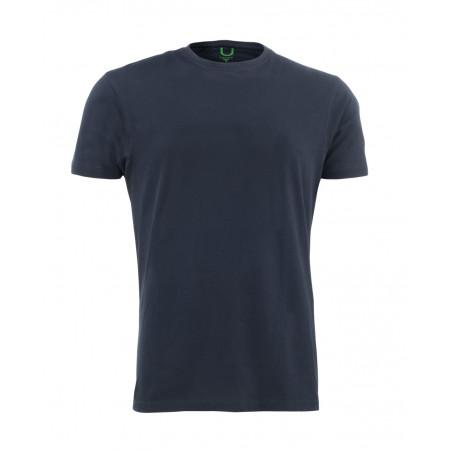 SALE % | U Fischer | T-Shirt Basic Single-Pack | Blau online im Shop bei meinfischer.de kaufen