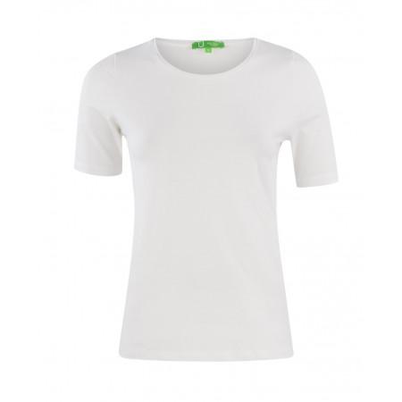 SALE % | Boss Casual | Shirt Basic Rundhals | Weiß online im Shop bei meinfischer.de kaufen