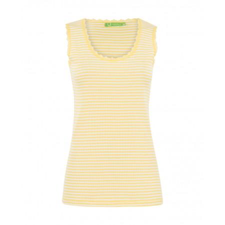 SALE % | U Fischer | Tank Top-Stripes | Gelb online im Shop bei meinfischer.de kaufen