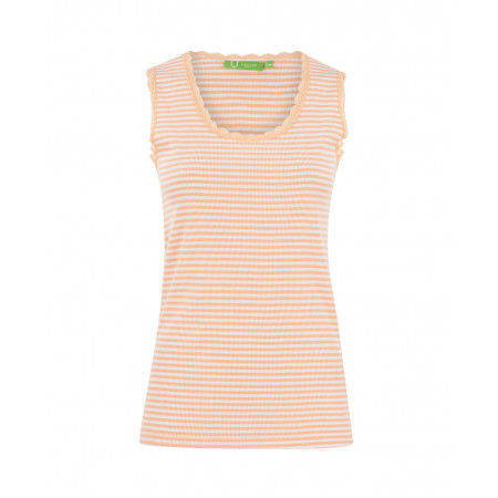 SALE % | U Fischer | Tank Top-Stripes | Orange online im Shop bei meinfischer.de kaufen