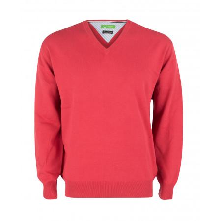 SALE % | U Fischer | Pullover - Regular Fit - V-Neck | Lila online im Shop bei meinfischer.de kaufen