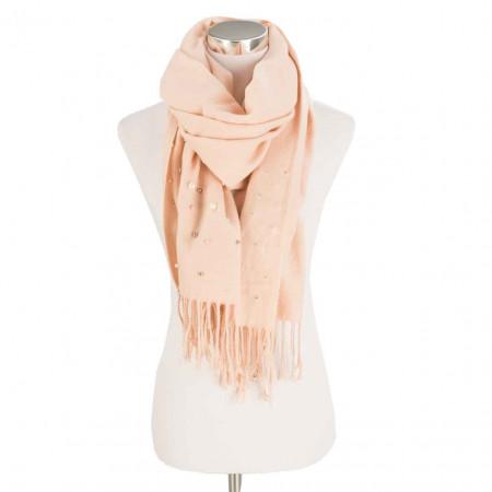 SALE %   U Fischer   Schal - Perlen-Applikation   Rosa online im Shop bei meinfischer.de kaufen