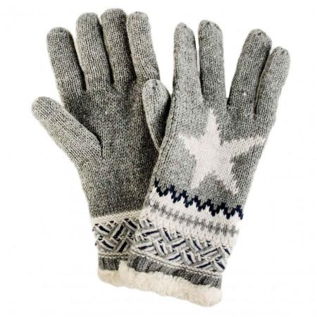SALE %   U Fischer   Strickhandschuh - Muster   Grau online im Shop bei meinfischer.de kaufen