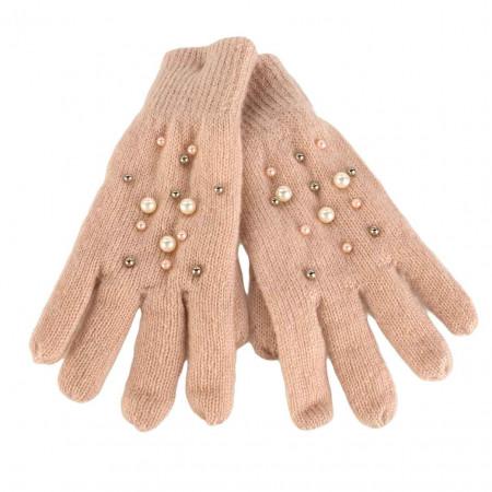 SALE % | U Fischer | Handschuh - Perlen | Rosa online im Shop bei meinfischer.de kaufen