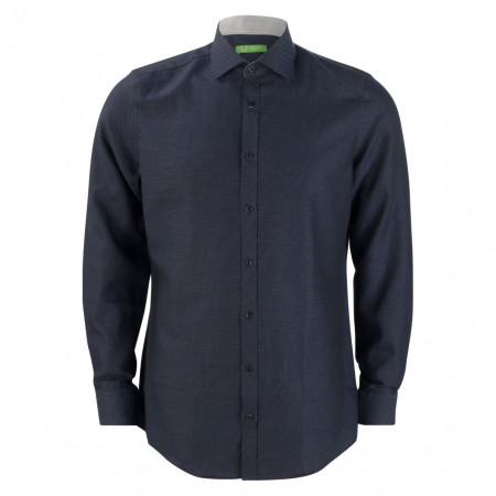 SALE %   U Fischer   Hemd - Regular Fit - Classic Kent   Blau online im Shop bei meinfischer.de kaufen